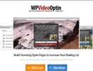 Wordpress Video Optin - Video Background Squeeze Pages - PLR WP Plugin