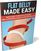 Thumbnail Flat Belly Made Easy Report with PLR