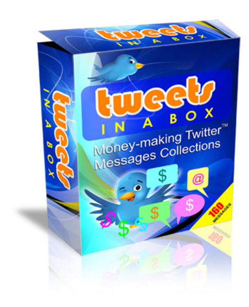 Product picture Tweets In A Box + PLR