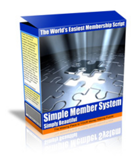 Product picture Member Site System - Having a membership site is one of the most lucrative online business models - MRR