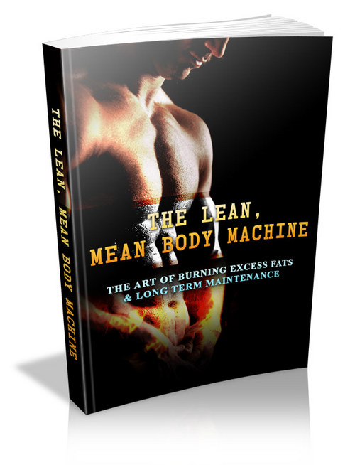 Product picture Lean Mean Body Machine - Quality Weight Loss PLR Product + Sales Page/Squeeze Page/Thank you Page/Promo Email