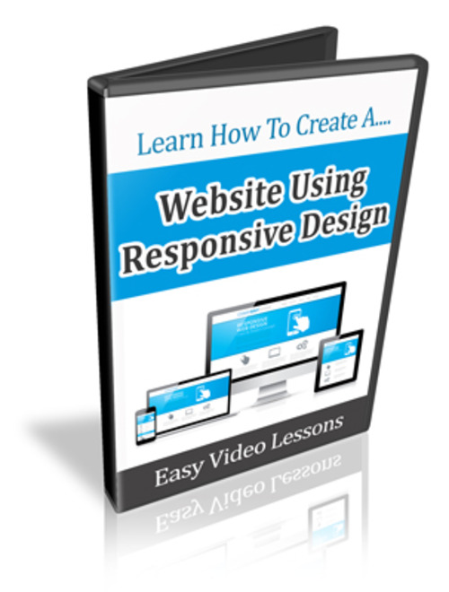 Product picture Learn How to Create a Website Using Responsive Design - Resell Rights