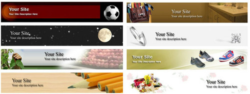 Product picture 20 Hot Niche Header Graphics + PLR