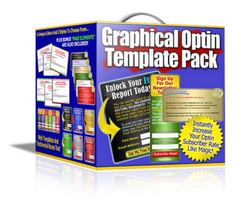 Product picture Professional Graphical Optin Template Pack With HTML